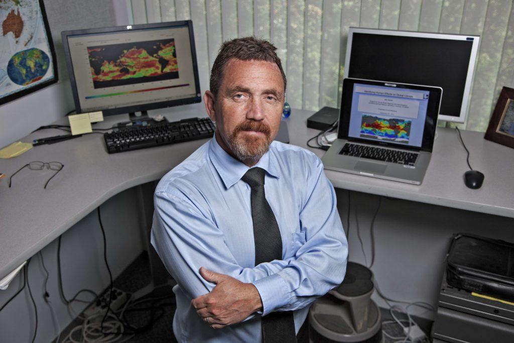 <Photo of Ben Santer, Climate Scientist>